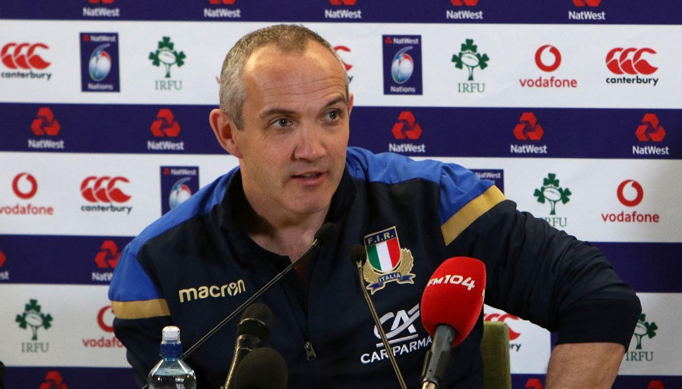 """Conor O'Shea: """"Il rugby è cambiato, tecnologia e analisi dati sono fondamentali per migliorare le performance"""""""